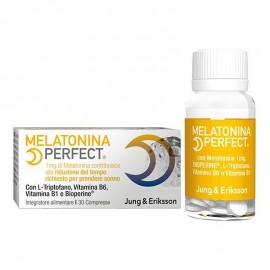 Jung & Eriksson Melatonina Perfect, 30 Compresse