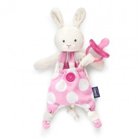 Chicco Pocket Friend 0m+ Coniglio, Rosa