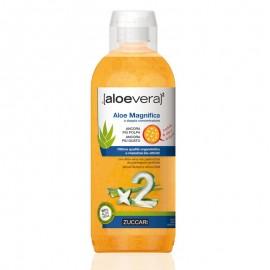 Zuccari Aloevera2 Succo Aloe Magnifica, confezione 3 bottiglie da 1 litro