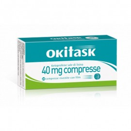 Okitask 40mg Compresse, 20 compresse rivestite con film