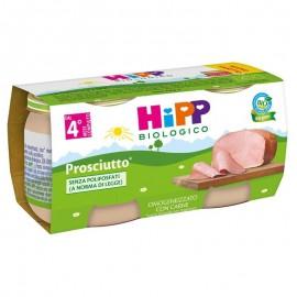 Hipp Omogeneizzato Prosciutto Cotto, 2 vasetti da 80 gr