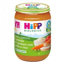 Hipp Fantasia di Verdure con Pollo e Riso, 190 gr