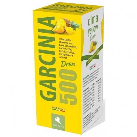 Abbé Roland Garcinia Dren 500, flacone da 500 ml  - Gusto Ananas