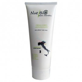 NatiBio Crema Corpo Anticellulite, tubo da 250ml