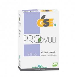 GSE Intimo Pro-Ovuli, blister da 10 ovuli vaginali vegetali da 2,5g