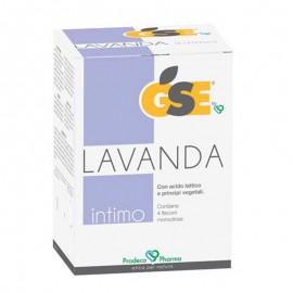 GSE Intimo Lavanda, 4 flaconi monodose da 100 ml
