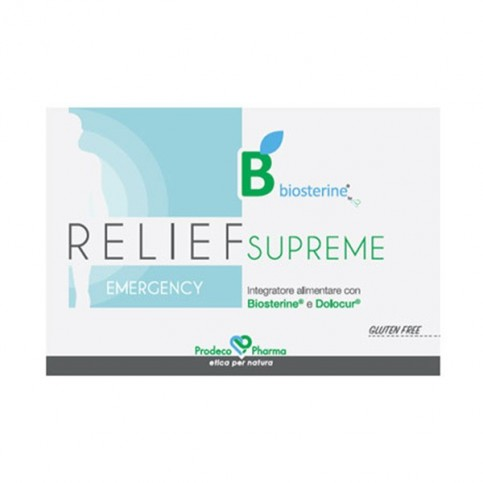 Biosterine Relief Supreme Emergency, 12 compresse