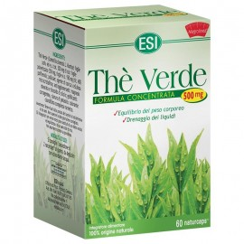 ESI Thè Verde formula concentrata 500 mg, 60 Naturcaps