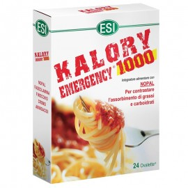 ESI Kalory Emergency 1000, astuccio da 24 ovalette