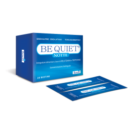 Benefit Be Quiet Notte, 20 bustine - Integratore per un buon sonno