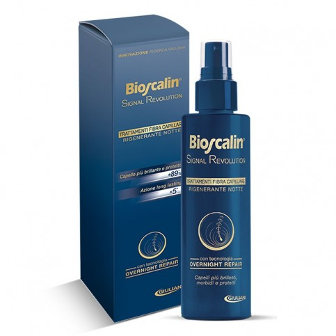 Bioscalin Signal Revolution Rigenerante Notte, Spray 100 ml