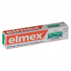 Elmex Junior dentifricio 6-12 anni al fluoro amminico, 75 ml