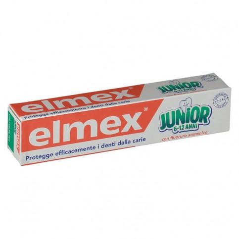 Elmex Junior dentifricio 6-12 anni al fluoro amminico, confezione da 75 ml