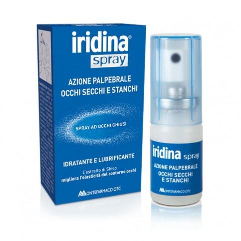 Iridina Spray Occhi Secchi Stanchi, flacone da 10ml