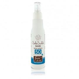 Fiocchi di Riso Sole Switch Bimbi latte solare spray SPF 50, 140 ml