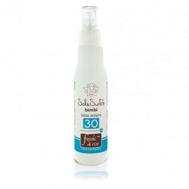 Fiocchi di Riso Sole Switch Bimbi latte solare spray SPF 30, 140 ml