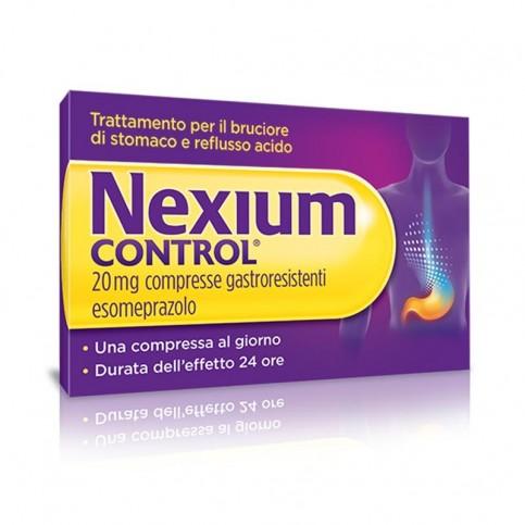 Nexium Control , 14 compresse gastroresistenti da 20 mg