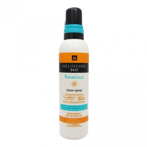 Heliocare 360° Pediatrics Lotion Spray SPF 50+, flacone da 200ml