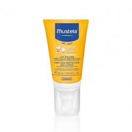Mustela Latte Solare protettivo viso pelle delicata e fragile SPF 50+, 40 ml