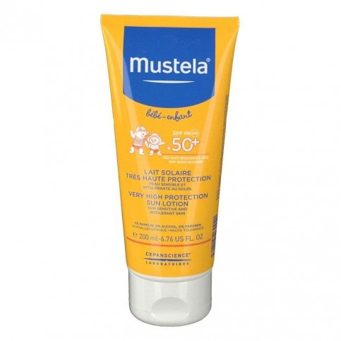 Mustela Latte Solare SPF 50+, 200 ml