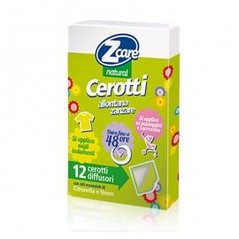 ZCare Natural Cerotti Allontana Zanzare, 12pz