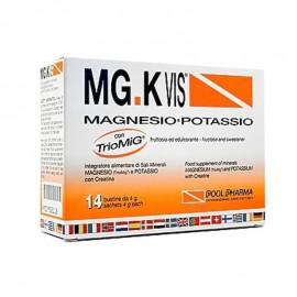 MG.KVIS Magnesio-Potassio, 14 bustine. Gusto Arancia