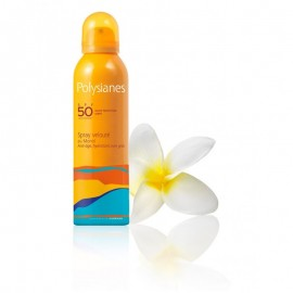 Polysianes Latte spray vellutato al Monoi SPF 50, 150 ml