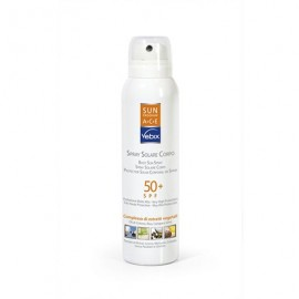 Vebix Sun Program Spray Solare Corpo SPF 50+, 125 ml