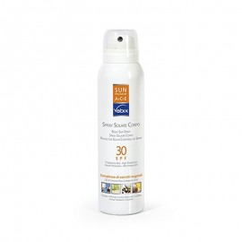 Vebix Sun Program Spray Solare Corpo SPF 30, 125 ml