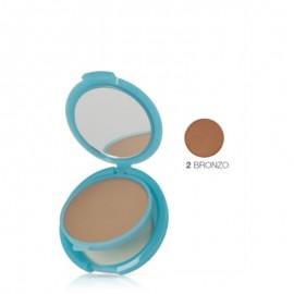 Bionike Defence Sun Fondotinta Compatto Bronze n.2 Solare SPF 50, Trousse 10 g