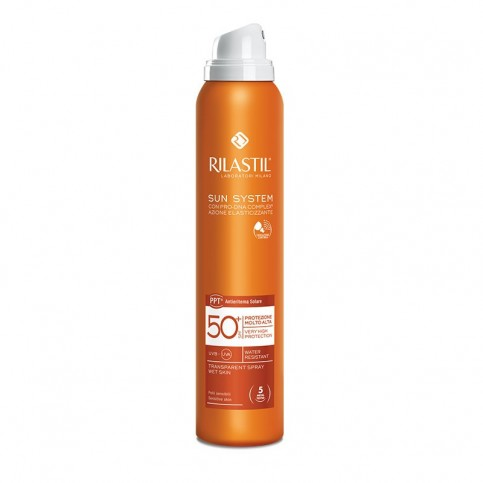 Rilastil Sun System SPF 50+ Spray Transparent, 200 ml