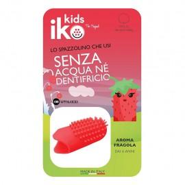 Iko Kids Fragola Ditale Fluoro - Spazzolino da dito