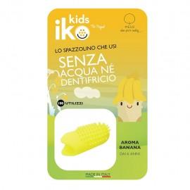 Iko Kids Banana Ditale Fluoro - Spazzolino da dito