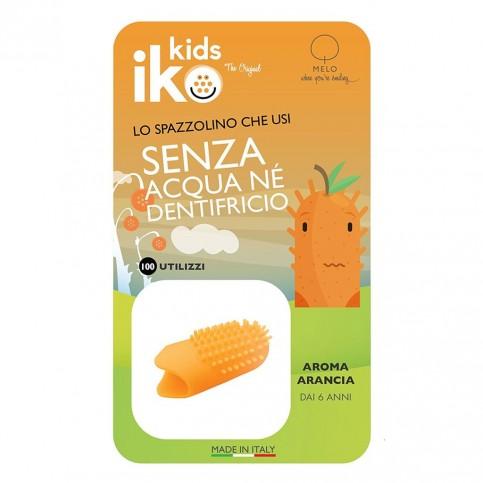 Iko Kids Arancia Ditale Fluoro - Spazzolino da dito