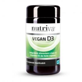 Nutriva Vegan D3, 60 compresse