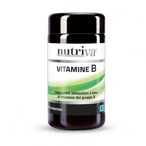 Nutriva Vitamine B, 50 compresse