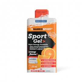 Named Sport Gel Orange - Energetico Gusto Arancia, 25 ml