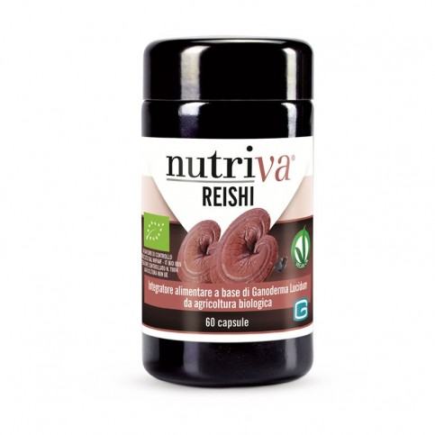 Nutriva Reishi, 60 capsule