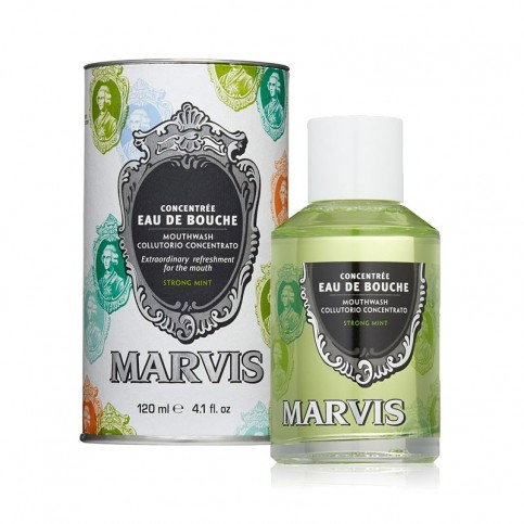 Marvis Collutorio Concentrated Mouthwash Strong Mint, 120 ml