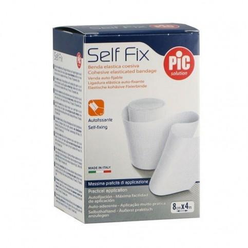 Pic Benda Self Fix 8cm x 4m - Benda elastica autofissante
