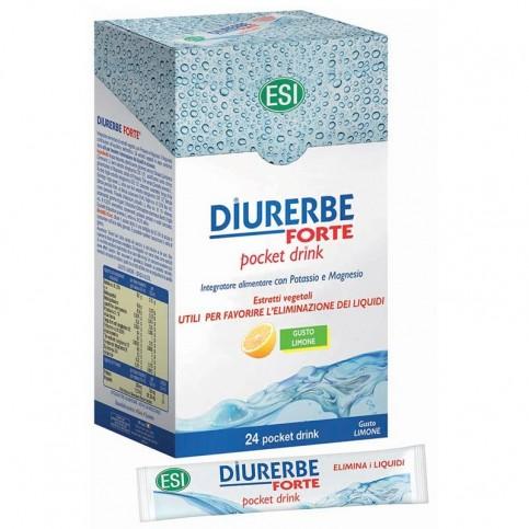 ESI Diurerbe Forte pocket drink, 24 bustine
