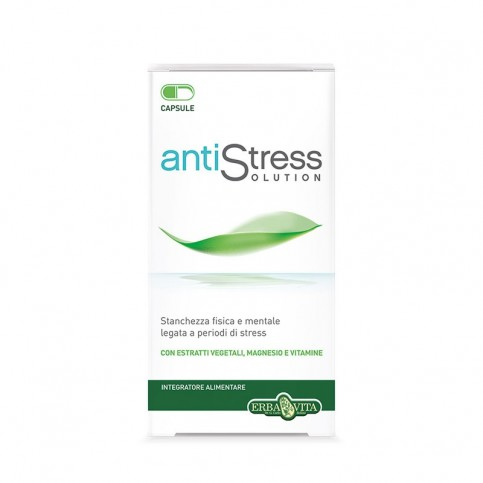Erba Vita Antistress Solution, 45 Capsule