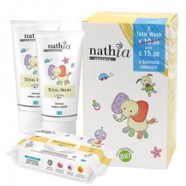 Nathia Kit Wash per il bagnetto e l'igiene dei neonati