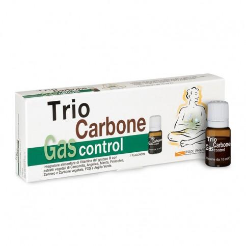Pool Pharma Trio Carbone Gas Control, 7 flaconcini da 10 ml