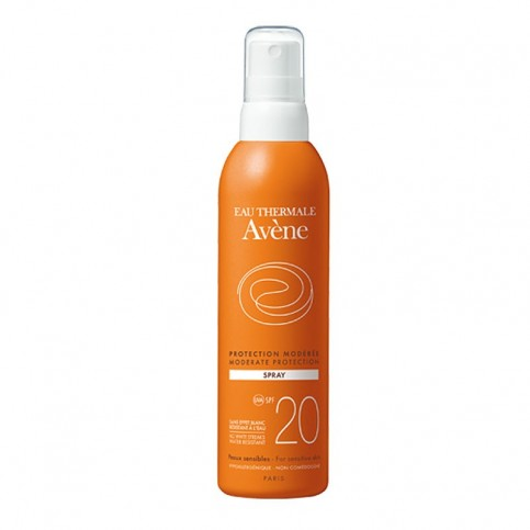 Avene Solare Spray SPF 20, 200 ml