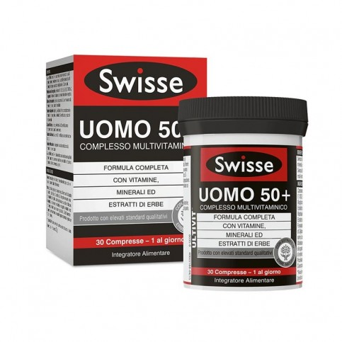 Swisse Multivitaminico Uomo 50+, 30 compresse
