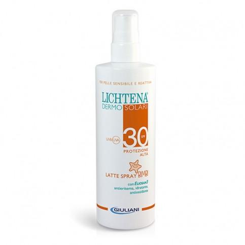 Lichtena Dermosolari Latte Spray Bimbi SPF 30