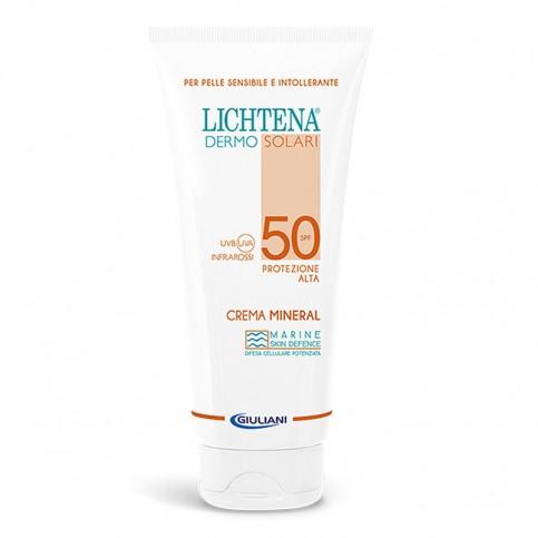 Lichtena Dermosolari Crema Mineral SPF 50, 100 ml