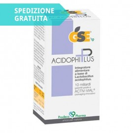 Gse Acidophiplus, 30 capsule vegetali