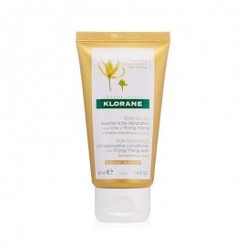 Klorane Balsamo ristrutturante alla cera di Ylang-Ylang, 50 ml